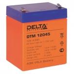 Аккумуляторная батарея Delta DTM12045 (12V; 4.5Ah)