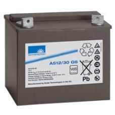 Гелевый аккумулятор  A512/30.0 G6