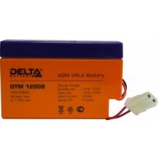 Аккумуляторная батарея Delta DTM 12008  (12В; 0.8Ач)