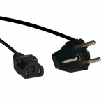 Кабель питания Tripp Lite Power Cord, C13 CEE/7 Schuko, 2m