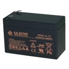 Аккумуляторная батарея BB Battery SHR 3.6-12 (12V; 13Вт/эл)