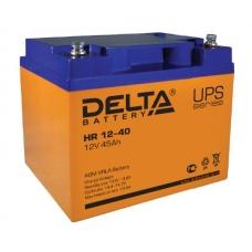 Аккумуляторная батарея Delta HR 12-40 (10 лет)