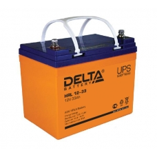 Аккумуляторная батарея Delta HRL 12-33