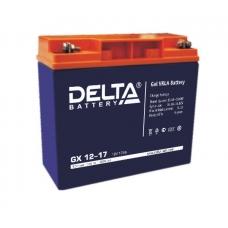 Аккумуляторная батарея Delta GX 12-17