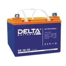 Аккумуляторная батарея Delta GX 12-33
