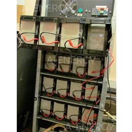 Техническое обслуживание и замена аккумуляторных батарей в источнике бесперебойного питания Eaton 9155 мощностью 20 кВА