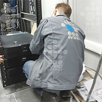 ИБП Delta Amplon RT 10 кВА для серверного оборудования логистической компании из Подмосковья
