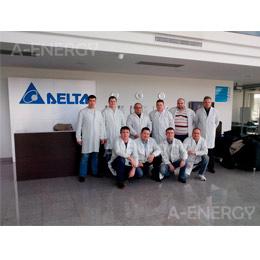 Повышение квалификации на заводе Delta Energy Systems
