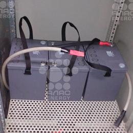 Обслуживание ЭПУ постоянного тока 110В с установкой АКБ Sprinter XP 12V1800 (Sprinter P 12V1220)