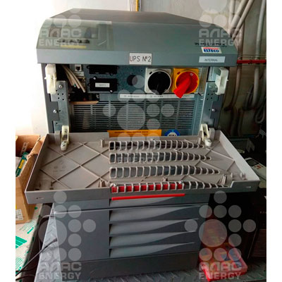 ТО ИБП Socomec Masterys BC 40кВА с заменой батарей Delta DTM 1240L