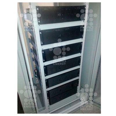 Обслуживание с заменой АКБ в ИБП APC 8кВА Smart-UPS RT