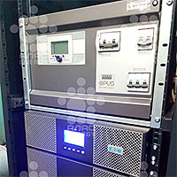 Установка ИБП Eaton 9PX и ЭПУ Efore Opus C