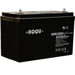 Новинка от компании AQQU АКБ 12 ML 100 E-LT  емкостью 100 Ач.