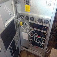 Замена конденсаторов в ИБП Liebert NXe 20 кВА