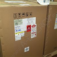Отгрузка 4-х ИБП Eaton 93E15KMBSBI