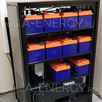 Поставка и подключение аккумуляторных батарей Delta HRL 12-211