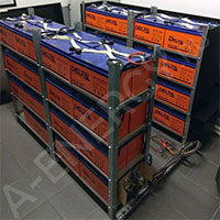 Обслуживание аккумуляторных батарей Delta HR 12-100