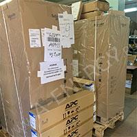 Отгрузка 2-х ИБП APC Easy UPS 3 Series 10кВА для Лукойла