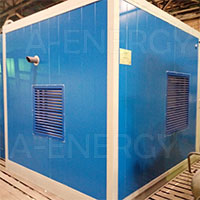 Поставка дизельного генератора в контейнере на 100 кВт